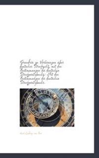 Grundriss Zu Vorlesungen Ber Deutsches Strafrecht, Mit Den Bestimmungen Des Deutschen Strafgesetzbu