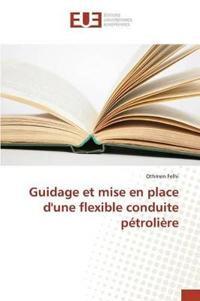 Guidage Et Mise En Place D'Une Flexible Conduite Petroliere