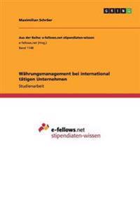 Wahrungsmanagement Bei International Tatigen Unternehmen
