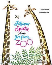 Kleiner Spatz im großen Zoo