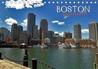 Boston - Ewiger Kalender (Tischkalender immerwährend DIN A5 quer)