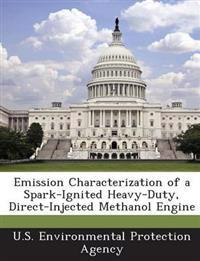 Emission Characterization of a Spark-Ignited Heavy-Duty, Direct-Injected Methanol Engine