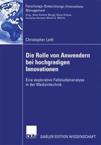 Die Rolle Von Anwendern Bei Hochgradigen Innovationen