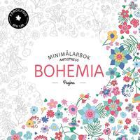 Bohemia. Minimålarbok antistress
