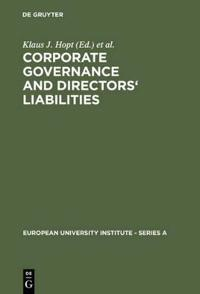 Corporate Governance and Directors' Liabilities