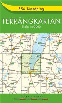 556 Jönköping Terrängkartan : 1:50000