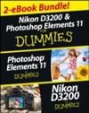 Nikon D3200 and Photoshop Elements For Dummies eBook Set