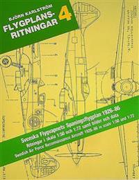 Flygplansritningar. 4 : Svenska Flygvapnets Spaningsplan 1926-1986 : Ritnin