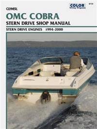 Clymer OMC Cobra Stern Drive Shop Manual 1994-2000