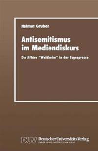 Antisemitismus Im Mediendiskurs