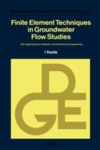 Finite Element Techniques in Groundwater Flow Studies