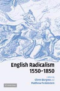 English Radicalism, 1550-1850