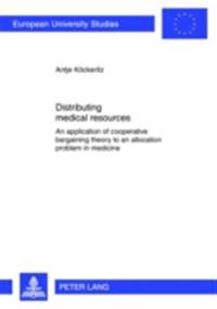 Distributing medical resources