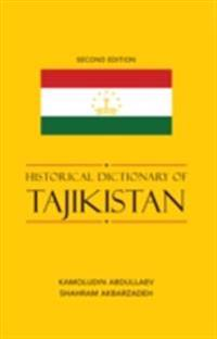 Historical Dictionary of Tajikistan