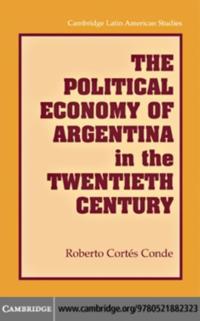 Political Economy of Argentina in the Twentieth Century