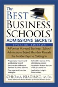 Best Business Schools' Admissions Secrets
