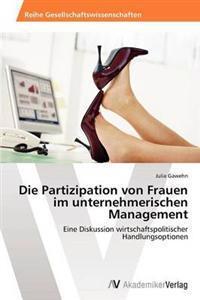 Die Partizipation Von Frauen Im Unternehmerischen Management