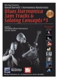 Blues Harmonica Jam Tracks & Soloing  Concepts #3