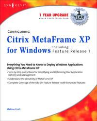 Configuring Citrix MetaFrame XP for Windows