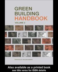 Green Building Handbook: Volume 2