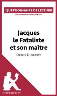 Jacques le Fataliste et son maitre de Denis Diderot