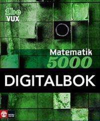 Matematik 5000 Kurs 1bc Vux Lärobok, Interaktiv