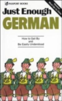 Just Enough German, 2nd Ed.