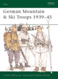 German Mountain & Ski Troops 1939 45