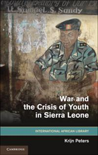 War and the Crisis of Youth in Sierra Leone