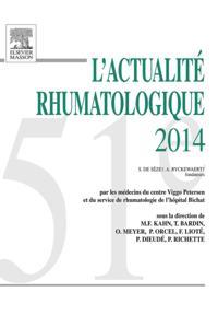 L'actualite rhumatologique 2014