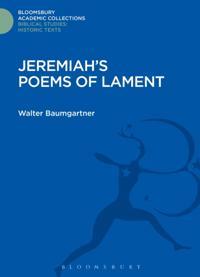 Jeremiah's Poems of Lament