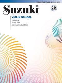 Suzuki violin  1 Bok-CD Kombo