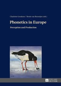 Phonetics in Europe