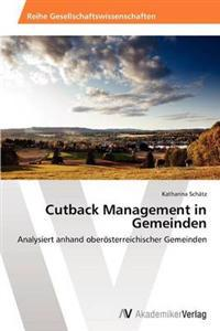 Cutback Management in Gemeinden