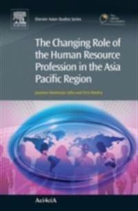 Changing Role of the Human Resource Profession in the Asia Pacific Region