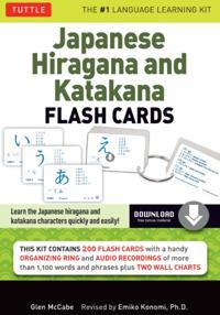 Japanese Hiragana & Katakana Flash Cards Kit Ebook