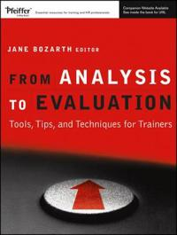 From Analysis to Evaluation: Tools, Tips, and Techniques for Trainers [With CDROM] [With CDROM]