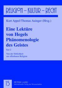 Eine Lekture von Hegels Phanomenologie des Geistes