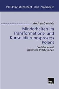 Minderheiten im Transformations- und Konsolidierungsprozess Polens