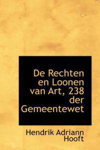 De Rechten En Loonen Van Art, 238 Der Gemeentewet
