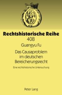 Das Causaproblem im deutschen Bereicherungsrecht