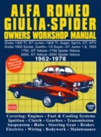 Alfa Romeo Spider Owners Work Manual