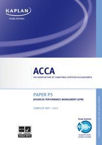 ACCA P5 Advanced Performance Management (APM)