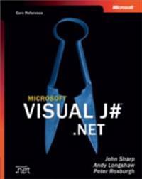 Microsoft(R) Visual J#(TM) .NET (Core Reference)
