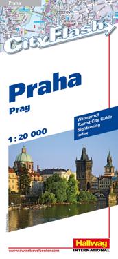 Rand McNally Prague Cityflash Vistor Map