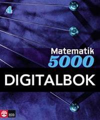 Matematik 5000 Kurs 4 Blå Lärobok, Interaktiv