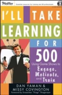 I'll Take Learning for 500