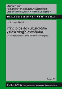 Principios de culturologia y fraseologia espanolas