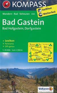 Bad Gastein / Bad Hofgastein / Dorfgastein 1 : 35 000