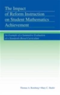 Impact of Reform Instruction on Student Mathematics Achievement